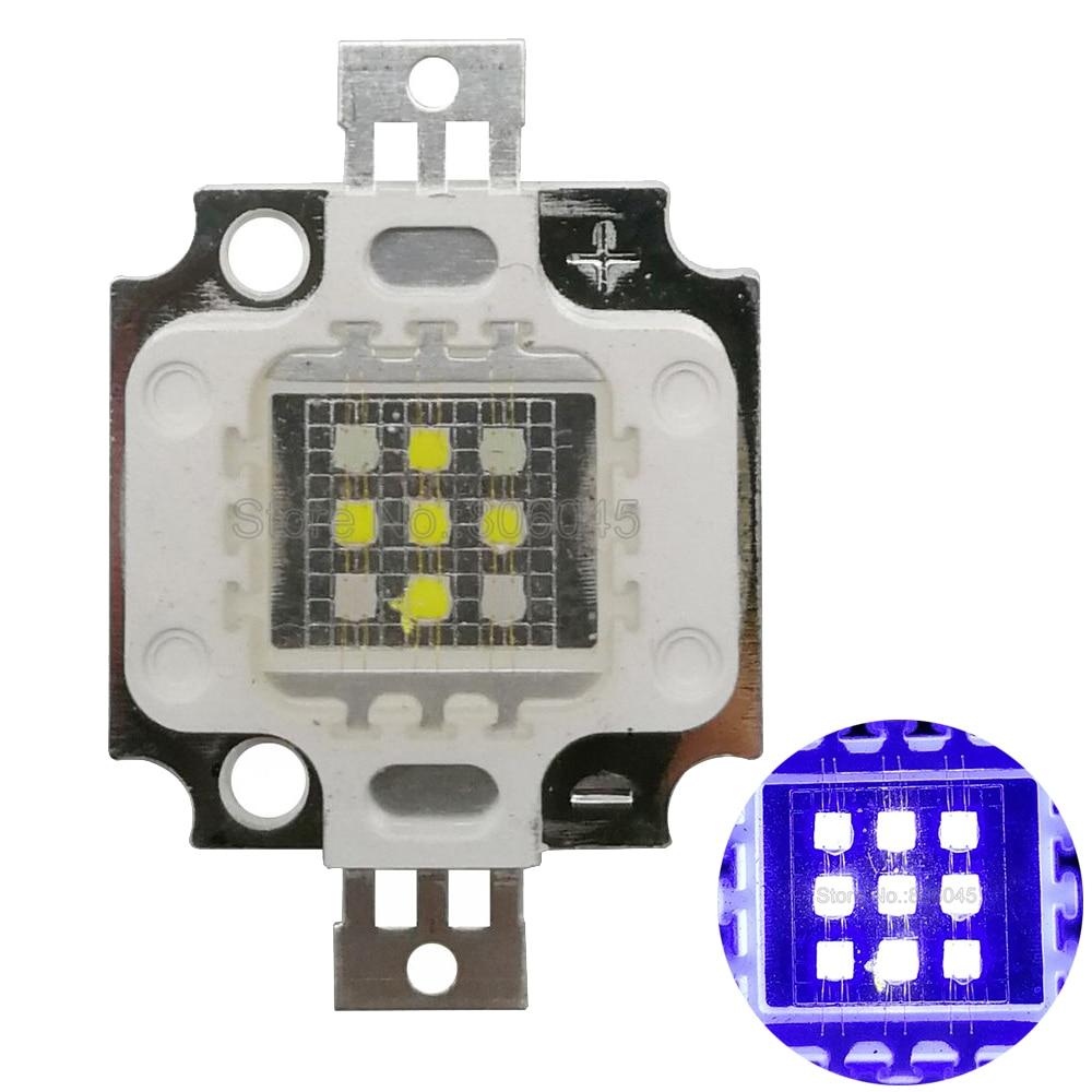 10W Super Actinic 5xCool White 10000K 4xRoyal Blue Hybrid High Power Multichip LED Intergrated Light Source For Aquarium