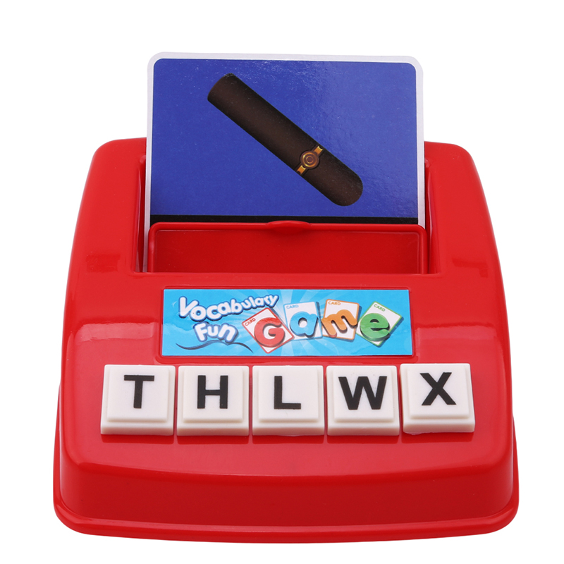English Spelling Alphabet Matching Letter Game Early Learning Educational Toy Interactive Parent-kids Desk Game For Kids Adult