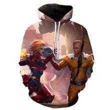 One Punch Man 3D Hoodies (18 Models)