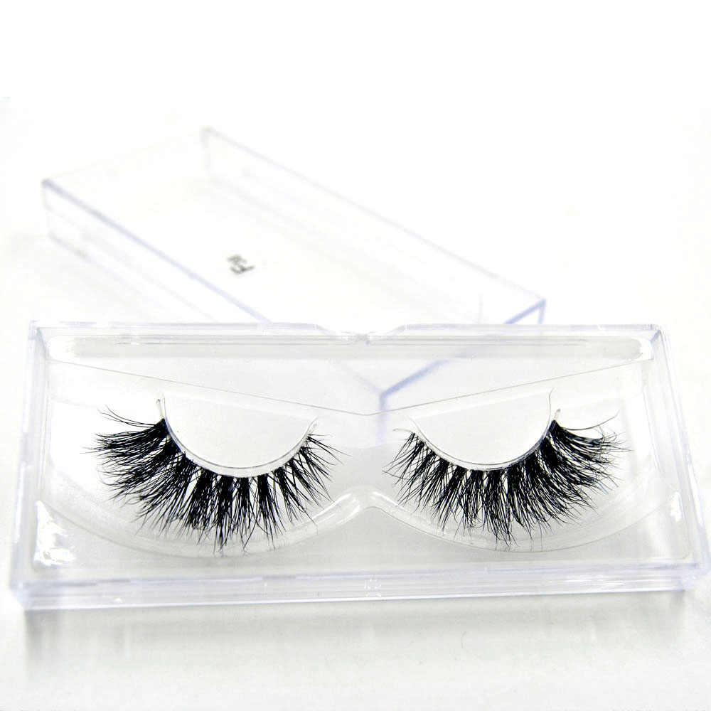 55b89ca3b4d ... 10 style Mink Eyelashes Invisible Band Lashes Natural 3D Mink False  Eyelash Full Strip Transparent band ...