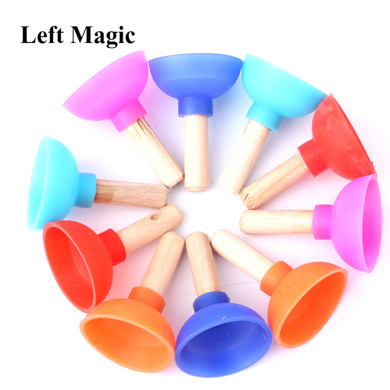 1 Pcs Tiny Plunger By Jon Armstrong - Magic Tricks Inspired Looking For Card Professional Close-Up Street Mentalism Magic