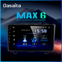 Dasaita Car 1 din radio Android 9.0 for Honda CRV 2008 2009 2010 2011 Navigation GPS MP3 64GB ROM DSP 9 IPS Mirroring Function