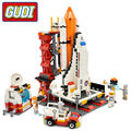 GUDI City Spaceport Space Shuttle Blocks 679pcs Bricks Building Block Sets Educational Toys For Children