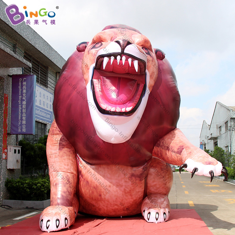 2019 HOT SALES 3.6x3.9x5mh inflatable lion sculpture decoration balloon toy customized giant lion model for advertising2019 HOT SALES 3.6x3.9x5mh inflatable lion sculpture decoration balloon toy customized giant lion model for advertising