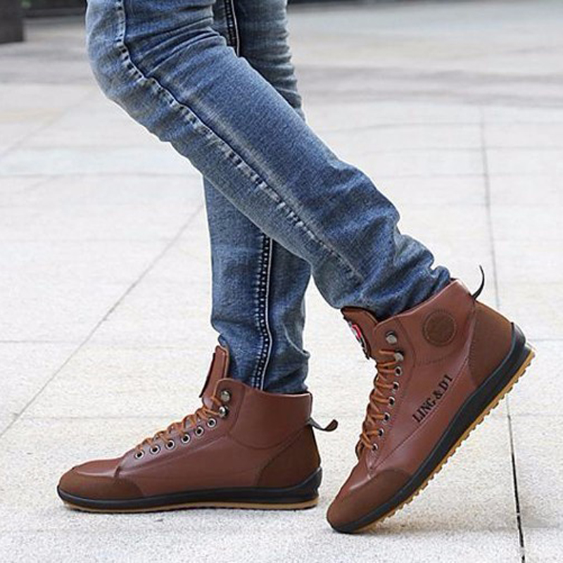 Mens Leather Boots Fashion - Boot 2017