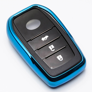 Image 5 - TPU Remote Car Key Case Cover For Toyota Chr C hr Land Cruiser 200 Avensis Auris Corolla Key Chain Case Accessories