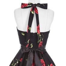 Belle Poque Vintage Dresses 50s 60s Plus Size Clothing 2017 Party Robe Vintage Retro Rockabilly Floral Swing Women Summer Dress