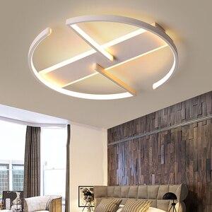 Image 5 - חדר שינה סלון LED תקרת אורות מודרני זוהר דה plafond moderne LED תקרת מנורת לילדים מחקר חדר