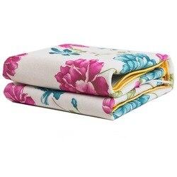Электрическое одеяло 150*120 см, плюшевое двойное одеяло с подогревом, безопасное электрическое одеяло, толстое одиночное электрическое одеял...
