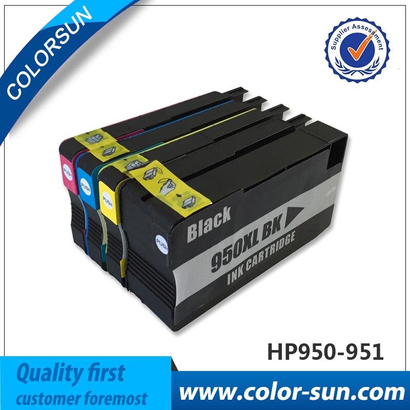 4 pcs Ink Cartridges for HP 950 951 XL Officejet Pro 8100 ...