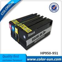 4 Pcs Ink Cartridges For HP 950 951 XL Officejet Pro 8100 8600 8610 8615 8625