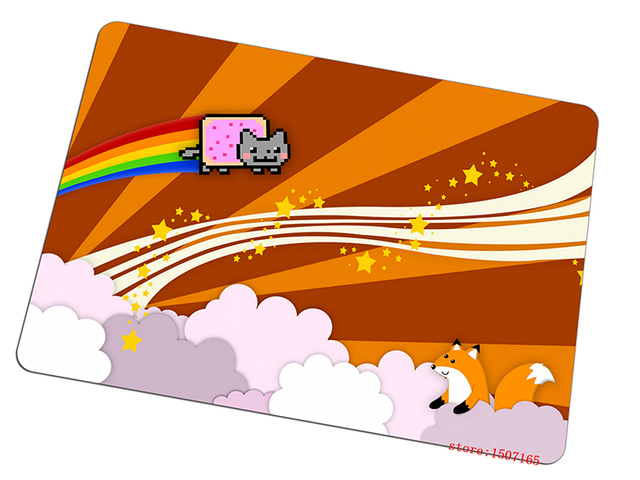 Nyan Cat Mouse Pad Fashion Gaming Mousepad Halloween Gift Gamer