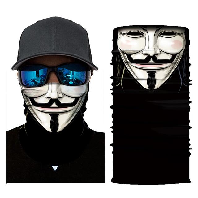 Motorcycle Skull Mask Biker Face Shield Balaclava Mascara Moto Halloween Kominiarka Cagoule Visage Ghost Face Mask Motorcycle 3