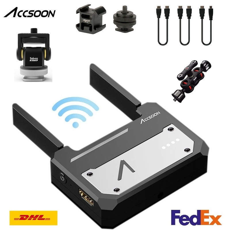 In Stock Accsoon CineEye Wireless 5G 1080P WiFi HDMI Transmission Device Video Transmitter For IOS iPhone