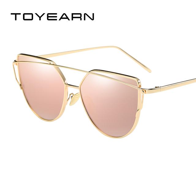 TOYEARN Fashion Ladies Cat Eye Sunglasses