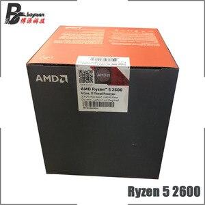 Image 3 - AMD Ryzen 5 2600 R5 2600 3.4 GHz Six Core Twelve Thread CPU Processor YD2600BBM6IAF Socket AM4 New and with fan