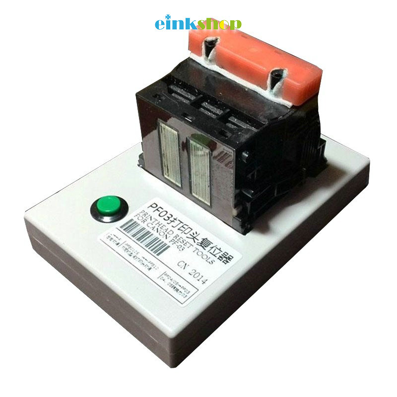 For Canon pf-03 PF03 printhead resetter for Canon IPF500 IPF510 IPF600 IPF605 IPF610 IPF710 IPF720 IPF810 IPF815 resetter pf-03 waste ink box maintenance tank chip resetter for canon ipf500 510 600 610 700 710 720 810 815 820 825 large format plotters