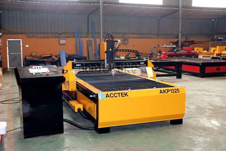 Découpeuse de plasma de CNC 1325 pour l'équipement d'acier inoxydable de coupe de plasma en métal/acctek avec 63A 100A 120A - 4