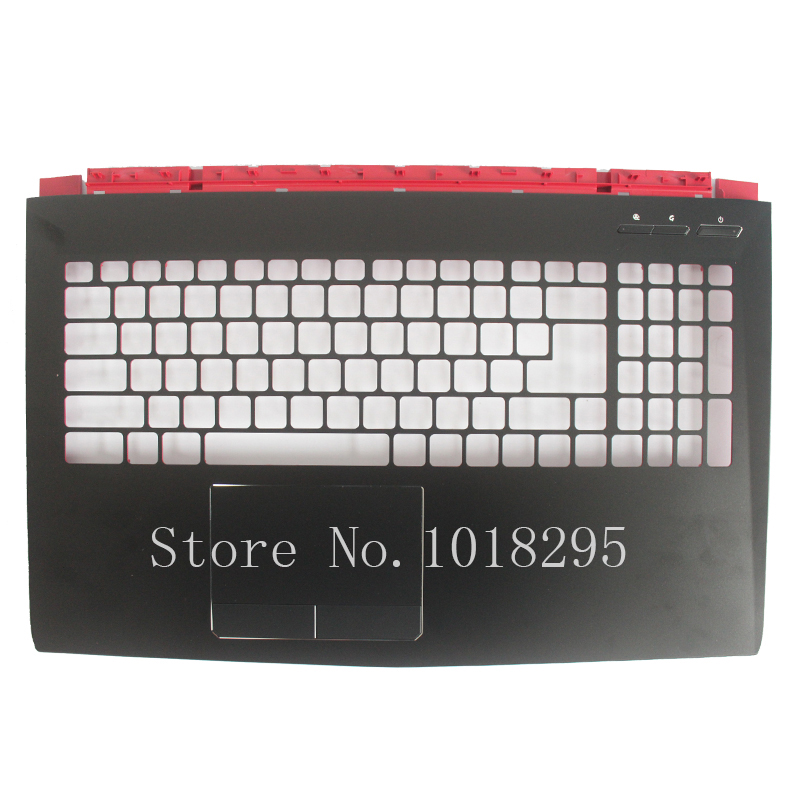 New For MSI GE72 2QD APACHE PRO MS-1792 SERIES Upper Case Palmrest Cover 307791C411Y31 E2P-7910412-Y31 new laptop for msi ge62 keyboard cover palmrest upper case 307 6j3c223 y31 3307 6j1c234 y31 15 6