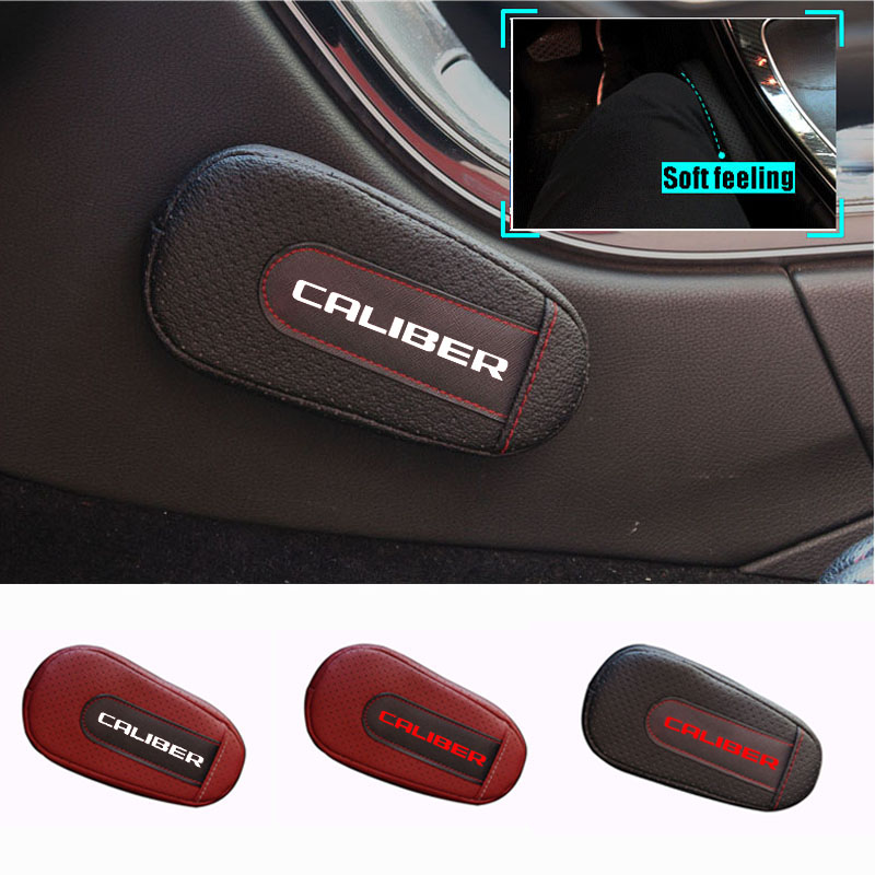 Soft Leather Leg Cushion Knee Pad Armrest pad Interior Car Accessories For Dodge Caliber|Seat Supports| |  - title=