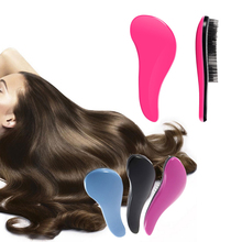 1Pcs Eyecatching Hair Care Styling Comb Beauty Healthy Shower Massager Detangle Edge Brush Hairbrush