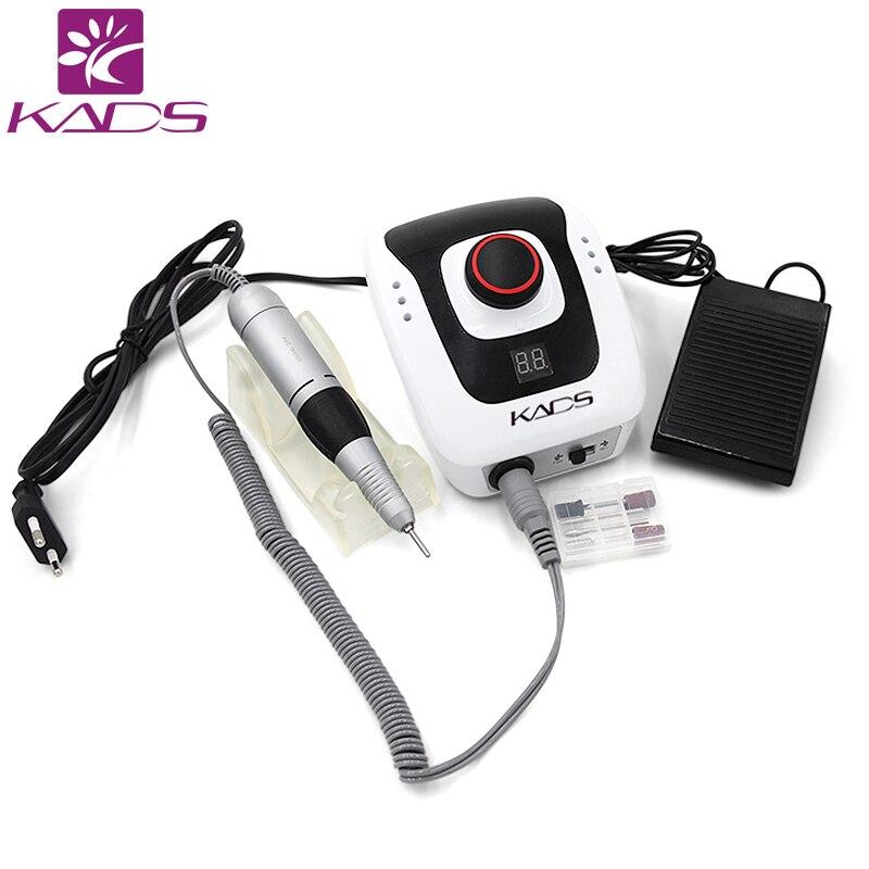 KADS 40W 35000RPM Electric Manicure Nail Art Drill Pen Machine Set For Nail Pedicure Equipment Electric