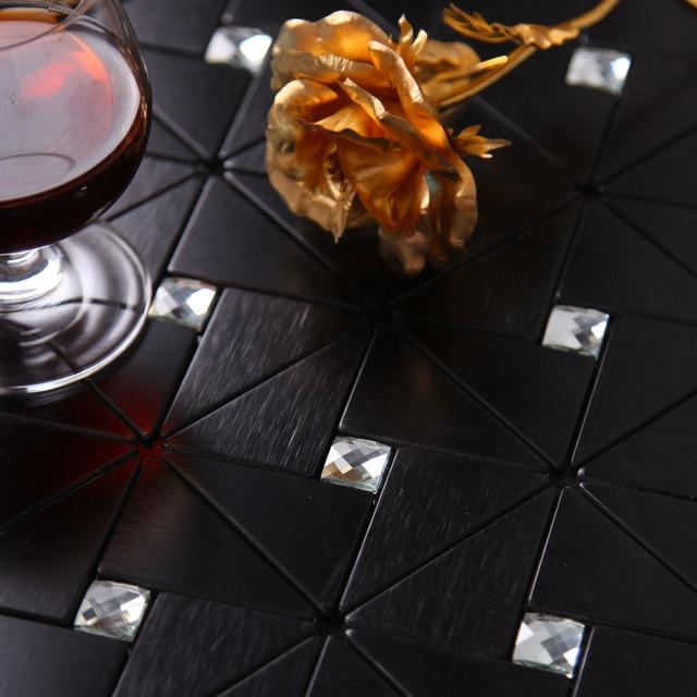 Moderna cucina nera backsplash tile bathroom wall piastrelle arredamento adesivi adesivo maglia metallo nero piastrelle cucina.jpg 640x640.jpg