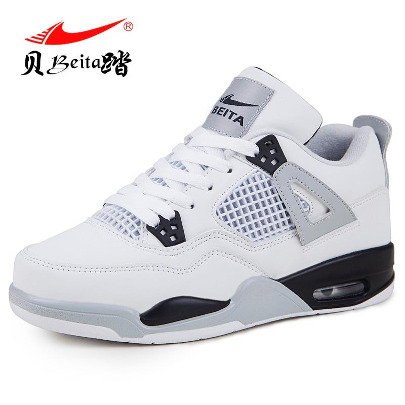 Nouveauté basket-ball chaussures Jordan chinois chaussures Uptempo baskets hommes extérieur amorti rétro Jordan 4 Hype