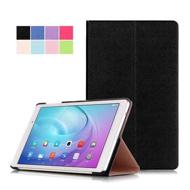 """Pu del soporte del cuero funda para huawei mediapad t2 10.0 pro (FDR-A01W) 10.1 """"Tablet + 2 Unids Protector de Pantalla"""