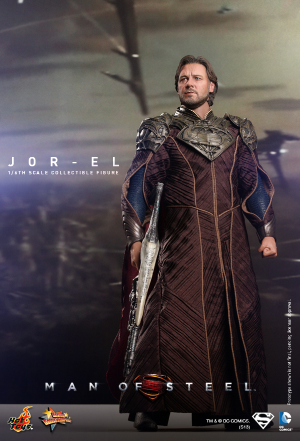 HT Hottoys Superman1/6 Man of Steel Jor-El model 12inch Action Figure Doll The finished product