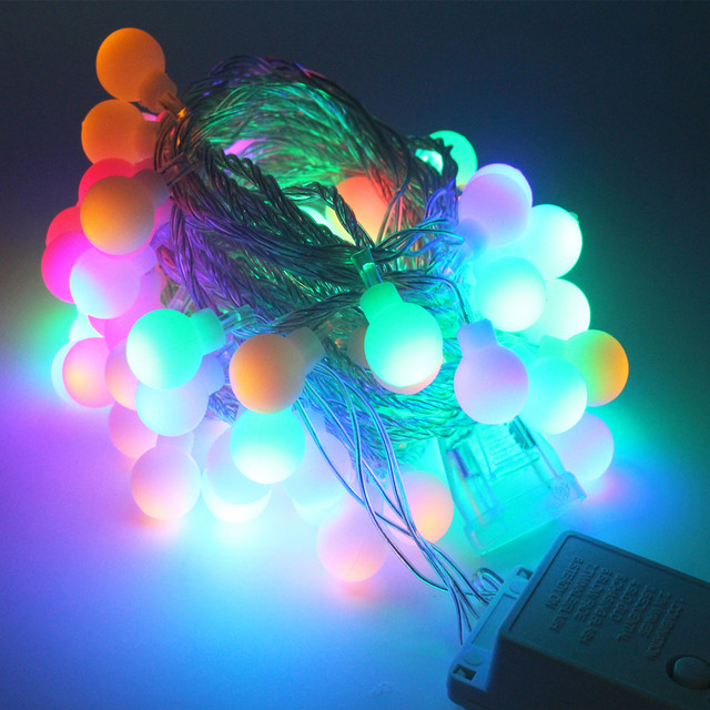 Christmas Light LED Bulb String Holiday Light Waterproof Warm White LED  String 20M/pack 200leds Pictures