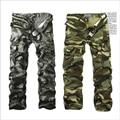 M-6X Мужская Бегуном Осень Военный Камуфляж мульти-карман брюки Прямо На Открытом Воздухе Камуфляж брюки Потерять Удобные Брюки