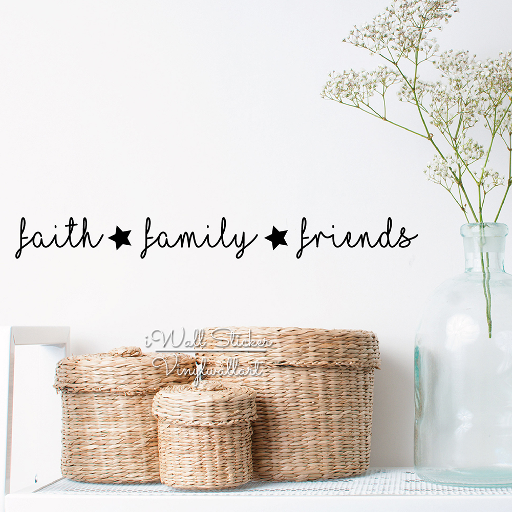 popular friends love quotes buy cheap friends love quotes lots faith family friends quote wall sticker love quote wall decal cut vinyl removable creative quotes stickers