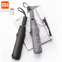 Xiaomi Mijia Huayang Super Large Automatic Umbrella Anti-UV Strong Rib Anti-strong Wind Rainstorm For Family Excursion Travel(China)