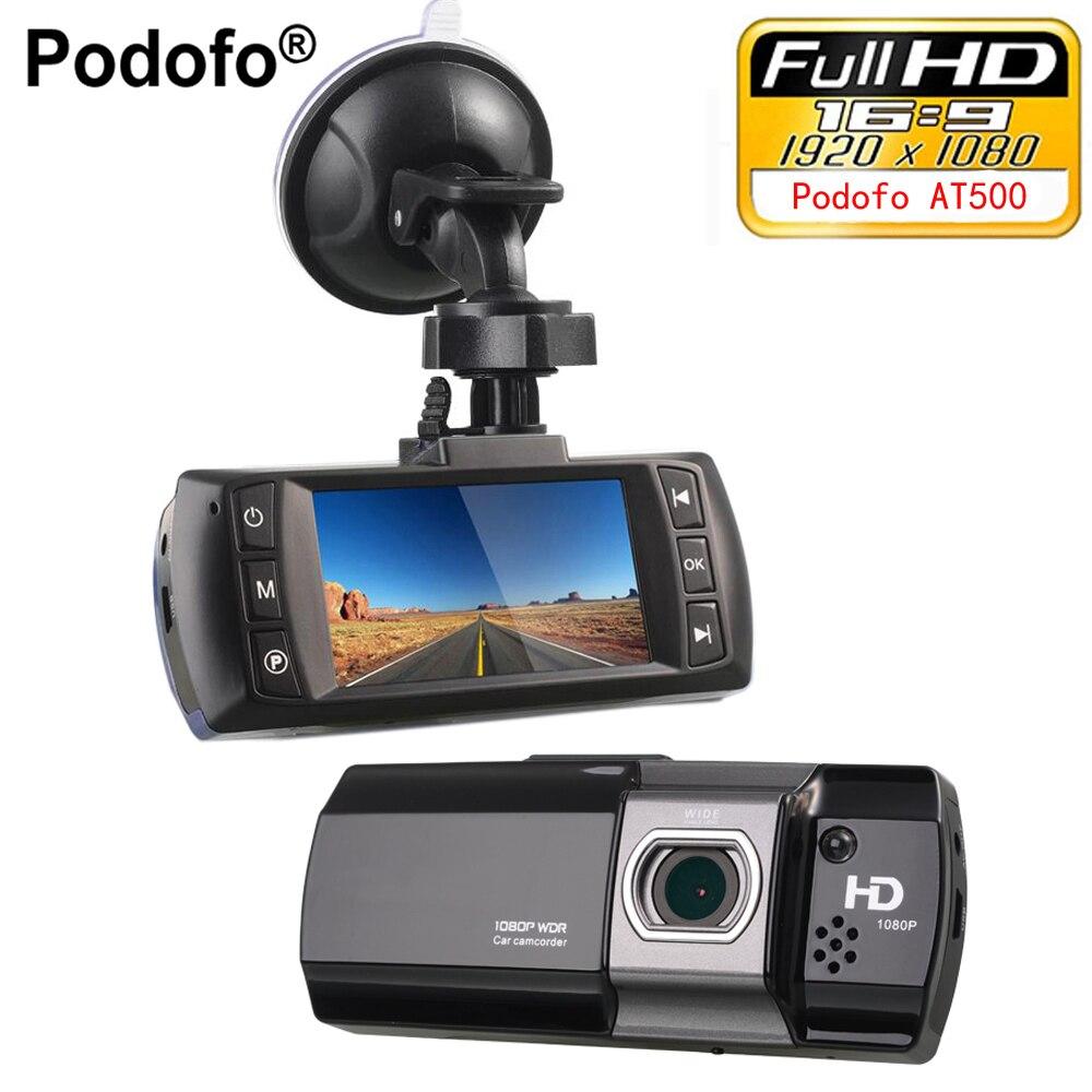 Podofo Novatek 96650 Voiture DVR Caméra Topbox AT550 Full HD 1080 P Vidéo Registrator Enregistreur HDR G-capteur Nuit Vision Dash Cam