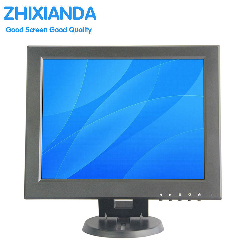 12 inch Mini PC Display Monitor 1024x768 HD VGA Resistive Touch Screen Monitor POS Machine Small Touch Monitor eyoyo c15 tft vga 15 touch screen lcd pos monitor retail restaurant bar pub touchscreen 1024x768 free shipping