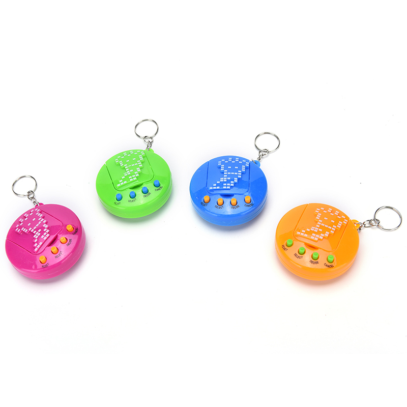 4 Colors Available Virtual Cyber Pets Toys Funny Handheld Game Machine Retro Game Funny Toy