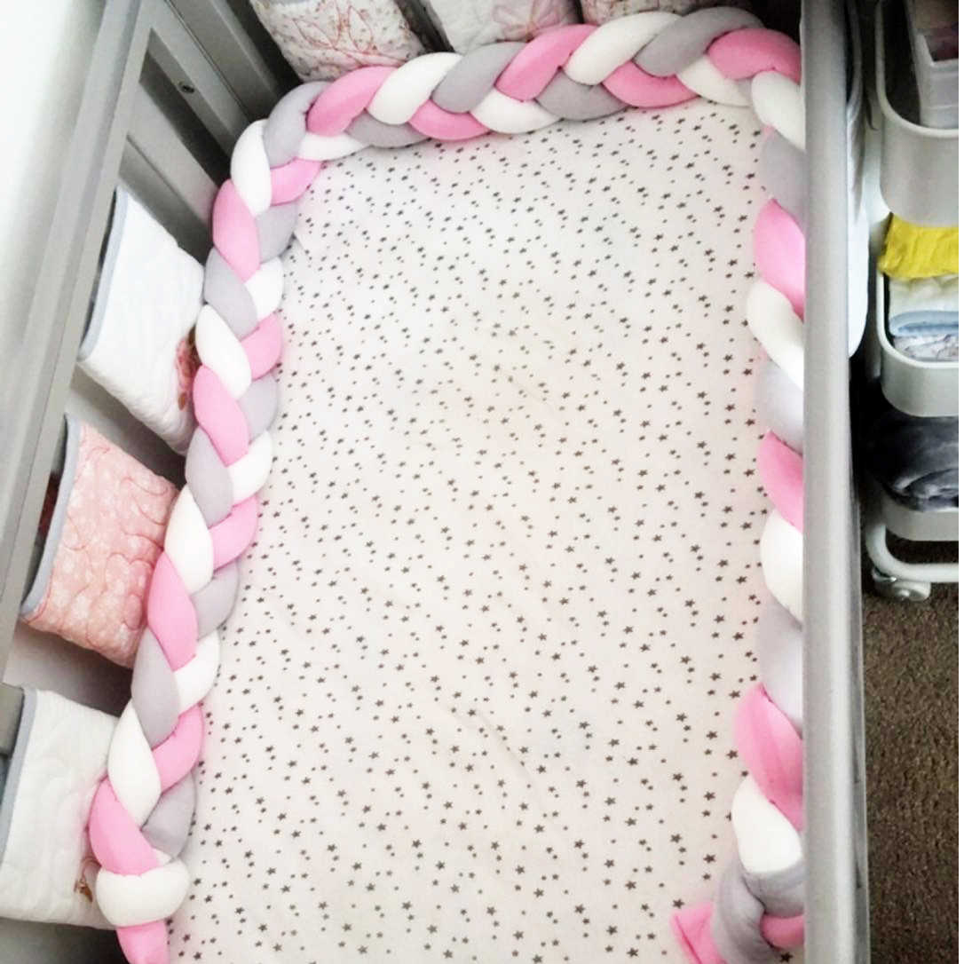 Detail Feedback Questions about Newborn Baby Bed Bumper Knot ...