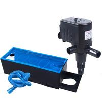 220 240v 3 In 1 Multifunction Internal Aquarium Filter Fish Tank Water Pump Top Filter Air Circulation With Aqatic Filter Box