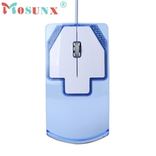 Mosunx LED Optical Wired Gaming Game Mice Mouse SZ0220*20