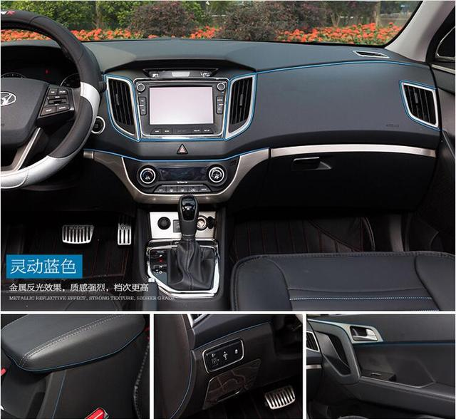 Voiture int rieur d coration garniture bande pour jaguar for Accessoire voiture interieur