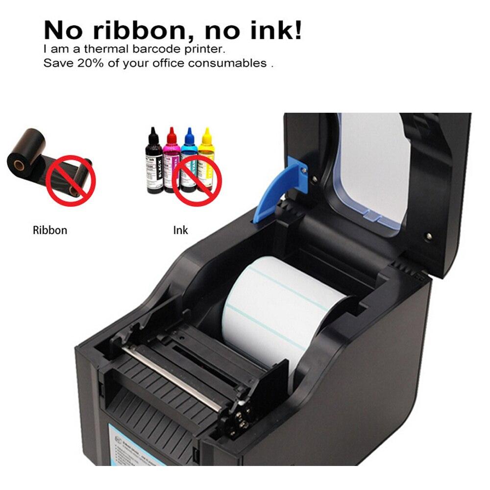 Label Barcode Printer Thermische Printer Print Bill Machine 20 Mm Tot 80 Mm Met Auto Peeling Ondersteuning Sticker papier - 3