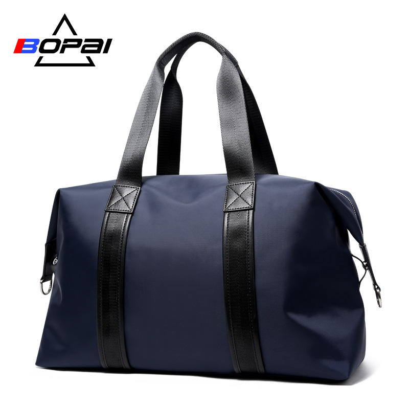 BOPAI Brand Men Travel Bags Carry on Luggage Large Capacity Men Travel Bags Weekend Travel Duffle  Bag Tote Travel Shoulder Bags