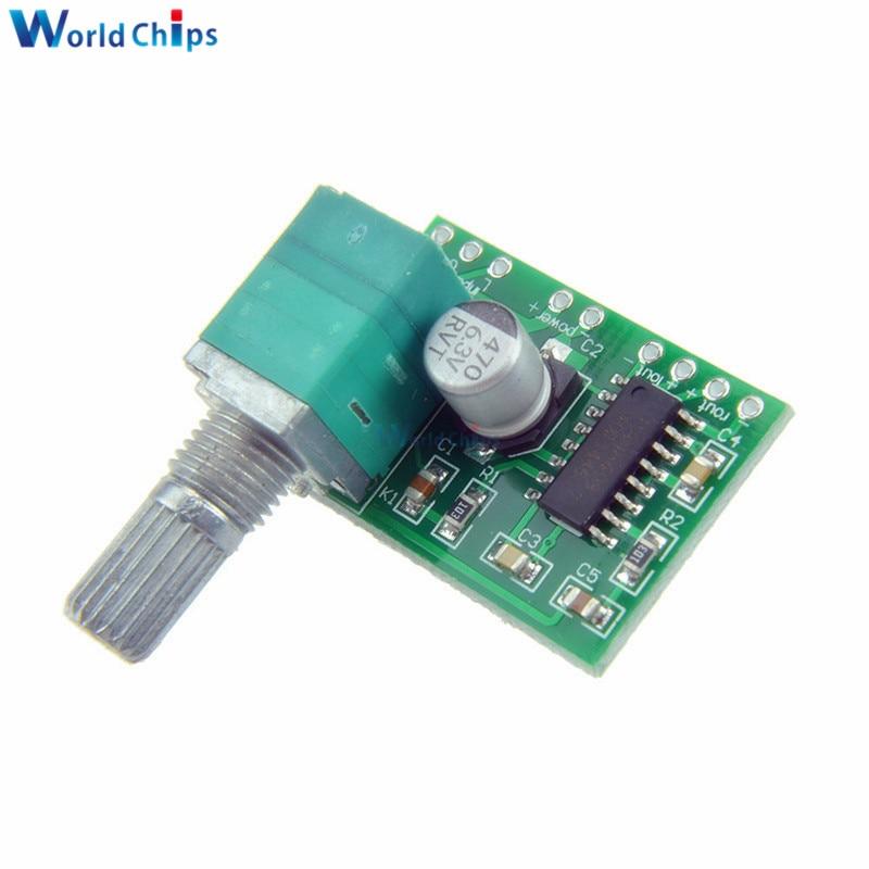 PAM8403 Digital Stereo  Bluetooth Speaker Amplifier Module 2*3W Volume Control