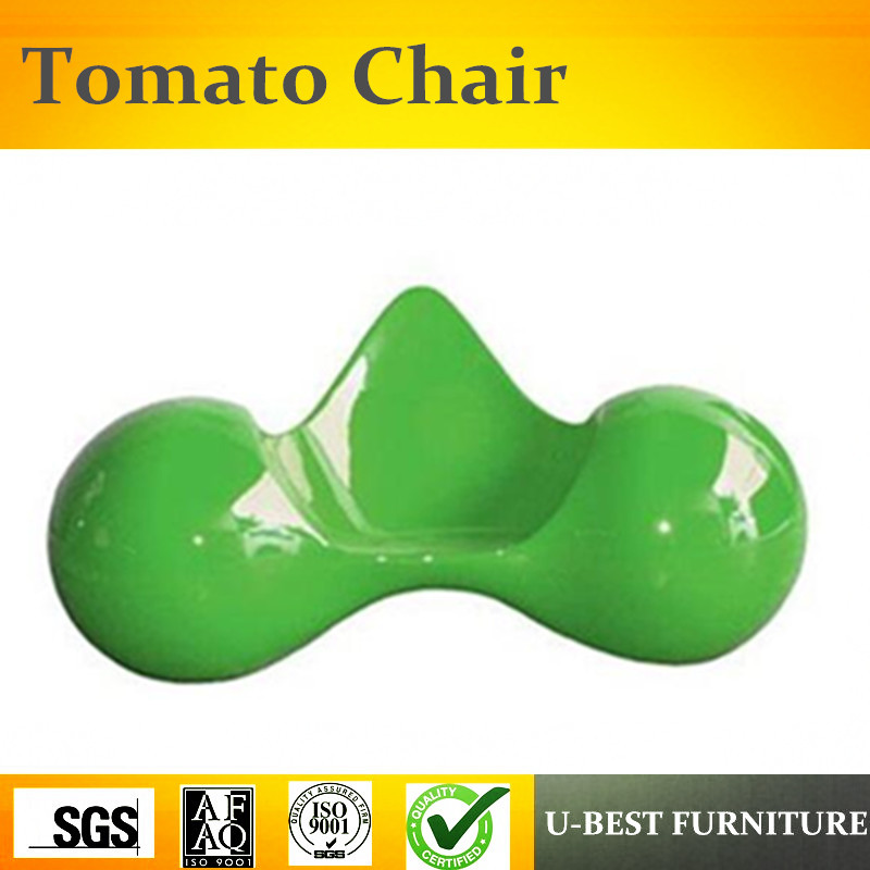 U-BEST Modern Leisure Chair For The Living Room With Tomato Lounge Chair With Fiber Glass Furniture