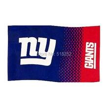 NY Giants fade Flag 3x5 FT 150X90CM NFL Banner 100D Polyester Custom flag  grommets 6038 4dc4c1dff