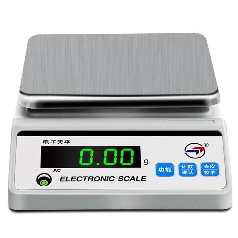 5000g/0.1g Balance numérique Portable haute précision Balance de cuisine bijoux Balance de poids affichage numérique hld-tp