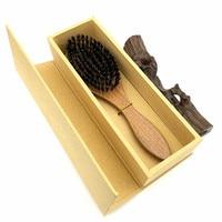Real Wild Boar Bristles Hair Combs Brush Sandalwood Brosse Cheveux Sanglier Pinceis El Peine Hair Care Pente Styling Tools L 979