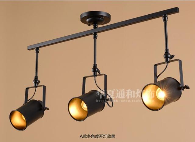Nordic modern minimalist retro ceiling lamp light industrial nordic modern minimalist retro ceiling lamp light industrial creative living room bar store personalized led ceiling aloadofball Gallery