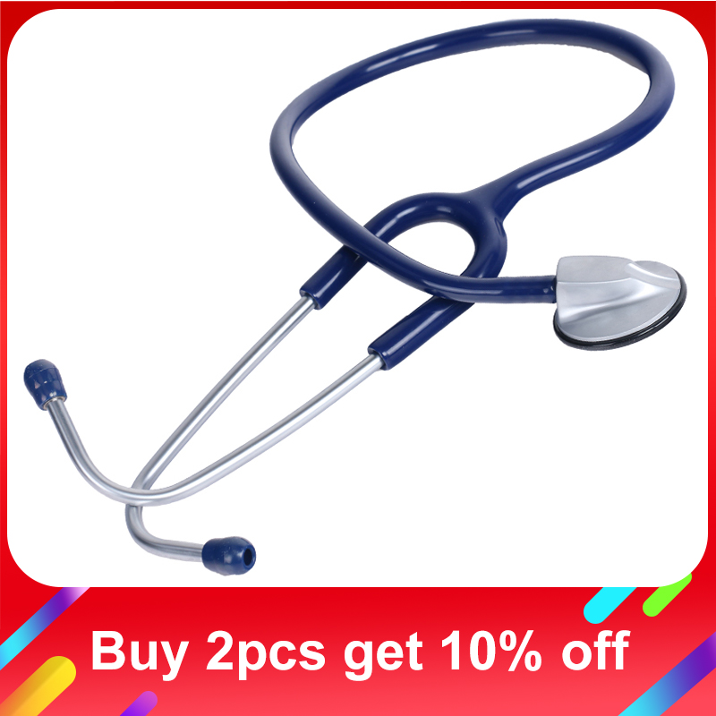 Cofoe Single Headed Stethoscope Professional EMT Clinical Cardiology Stethoscope Medical Auscultation Device for Doctor Nurse